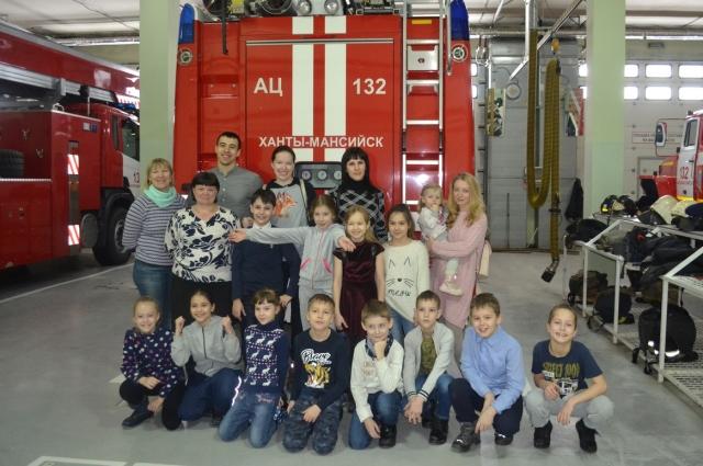 Пожарные-добровольцы ежегодно проводят в Ханты-Мансийске десятки профилактических мероприятий