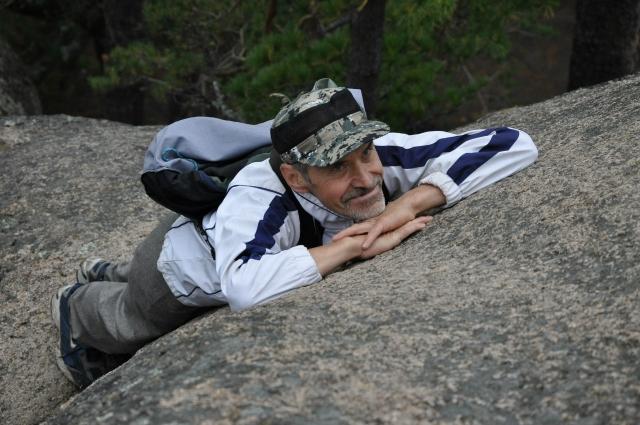 Юрий Лесовик - бесконечно влюбленный в природу Сибири.