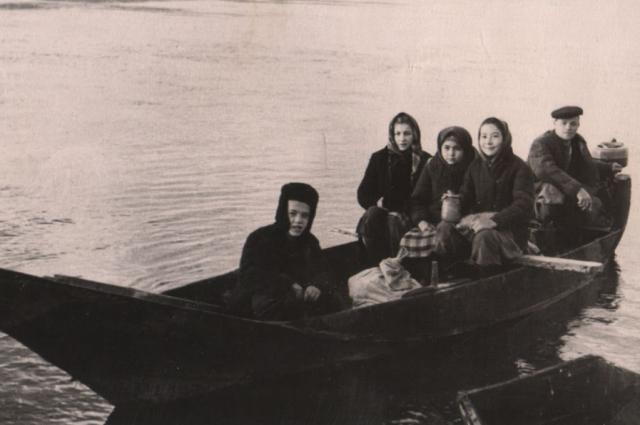 Жители деревни Татарка, 50-е годы.