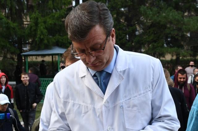 Министр здравоохранения Омской области Александр Мураховский.