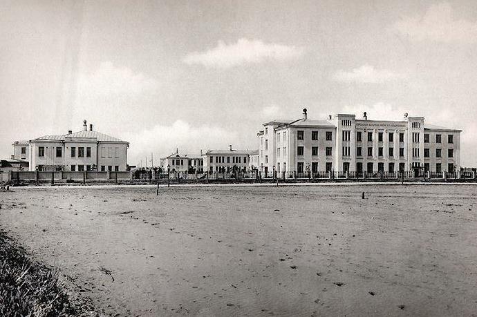 Больница имени К. Т. Солдатенкова на Ходынском поле, 1913 год.