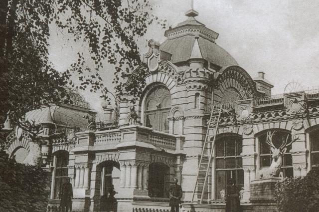 Дворец великого князя в Ташкенте. Вид начала XX века.