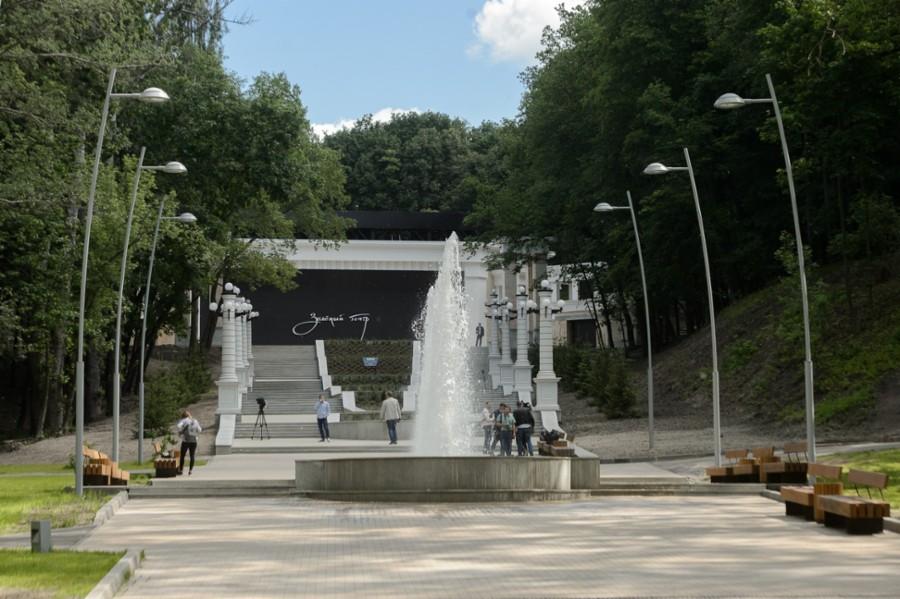 Зеленый театр в Воронеже (Динамо)