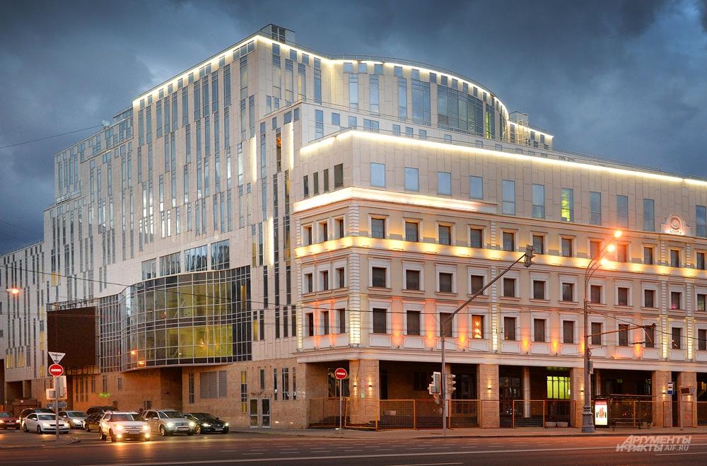 Новое здание театра Олега Табакова