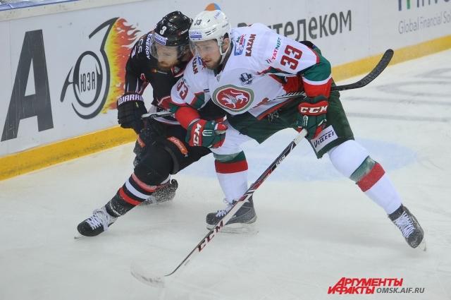 После двух поражений в Омске было сложно играть на выезде.