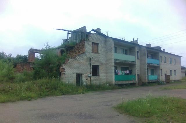 Дом, в котором живет Ольга с сестрами