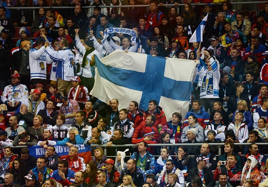 Матч Россия - Финляндия