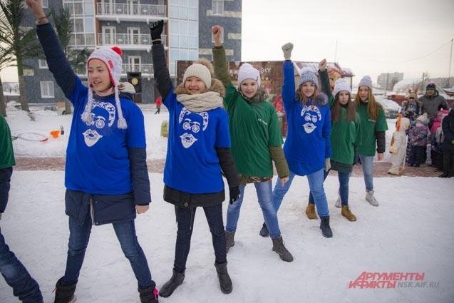 Хореографический коллектив «Фейерверк» из молодёжного центра имени А. П. Чехова