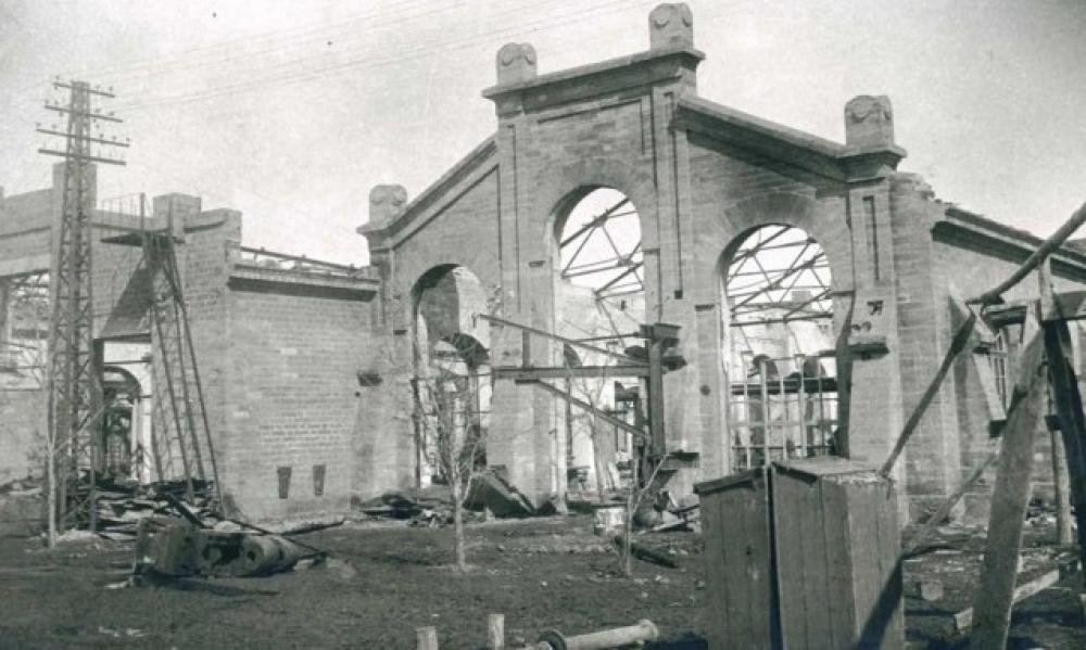 Таким был Ставрополь сразу после освобождения.