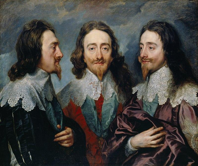 Ван Дрейк, Карл I с трех сторон, Тройной портрет Карла I