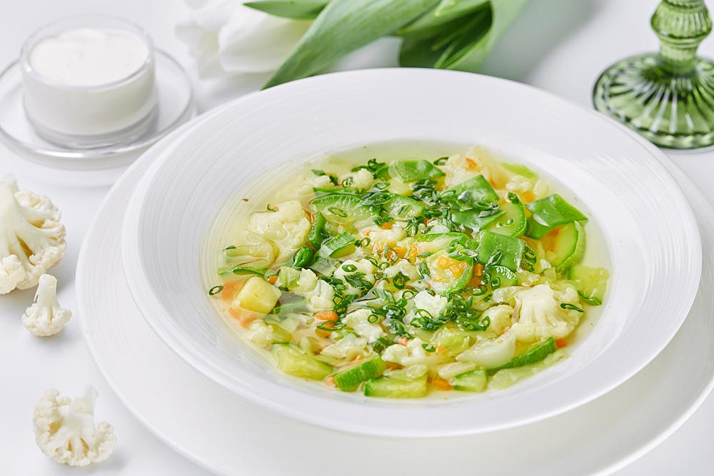 Вкусный суп мужчина в силах приготовить сам.