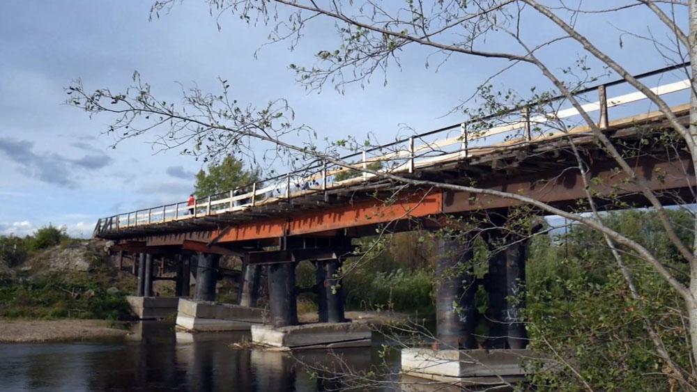 Мост в Серове