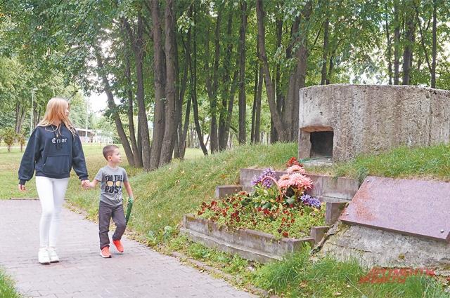 Памятник в честь защитников Москвы.