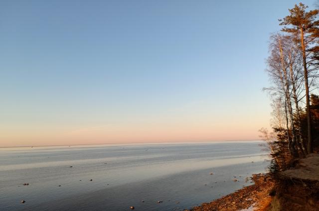 Природа побережья, где находится форт, великолепна. С высокого обрыва открывается чудесный вид.