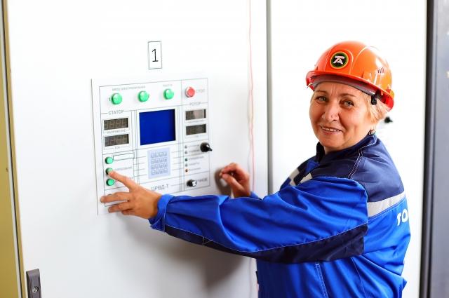 Елена Краснова 40 лет трудится на очистных сооружениях предприятия