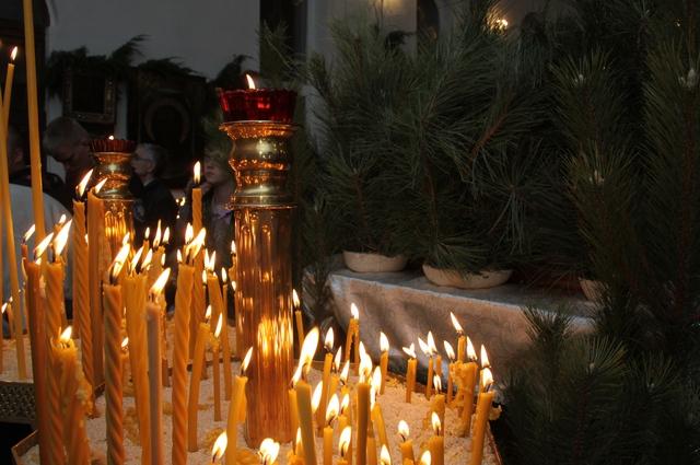 Рождественская служба в Волгограде