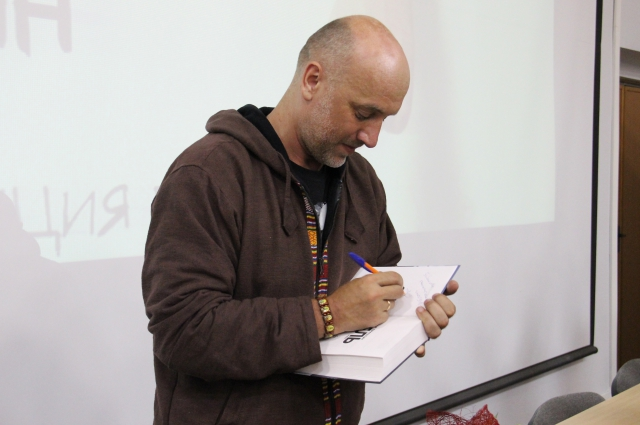 23 марта Захар Прилепин представит рязанцам свою новую книгу.