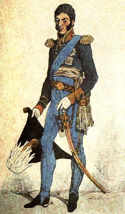 Пётр Багратион. Рис. и грав. Д. Дайтона. 1814 г