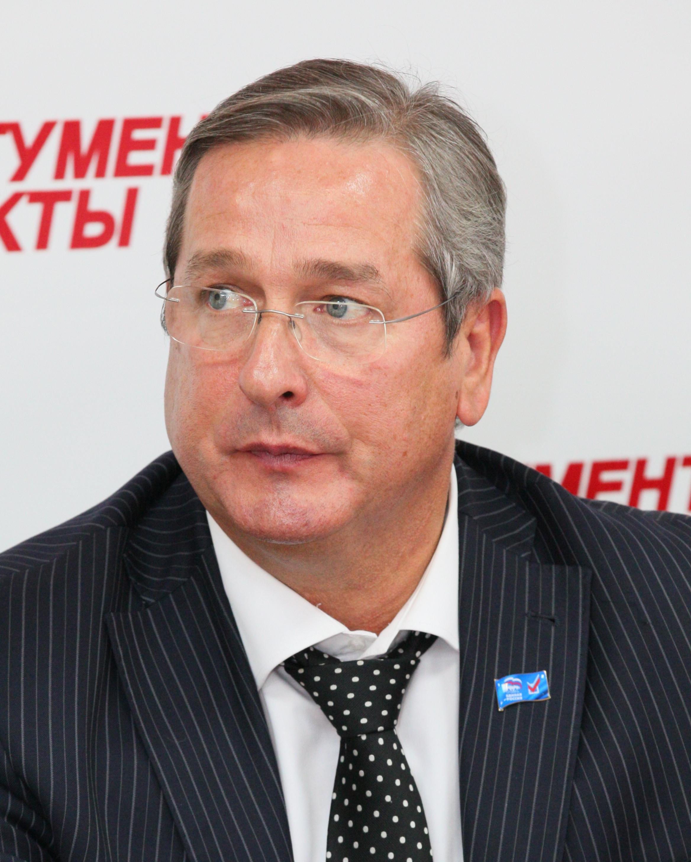 Александр Гончаров, уполномоченный по защите прав предпринимателей в Челябинской области