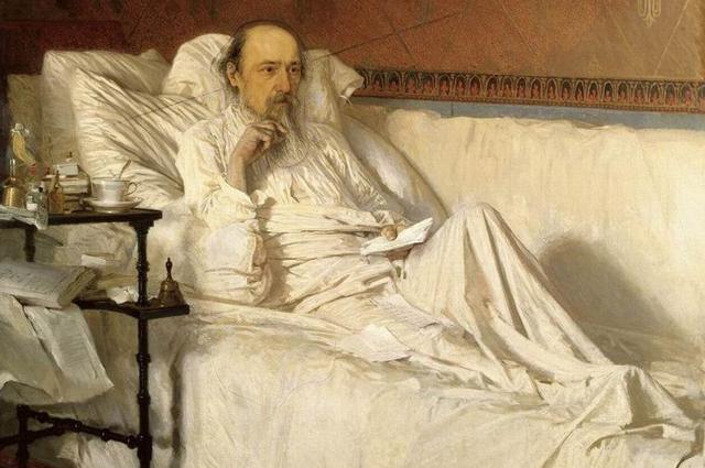 И.Н. Крамской. Н.А. Некрасов в период «Последних песен». 1877—1878 годы