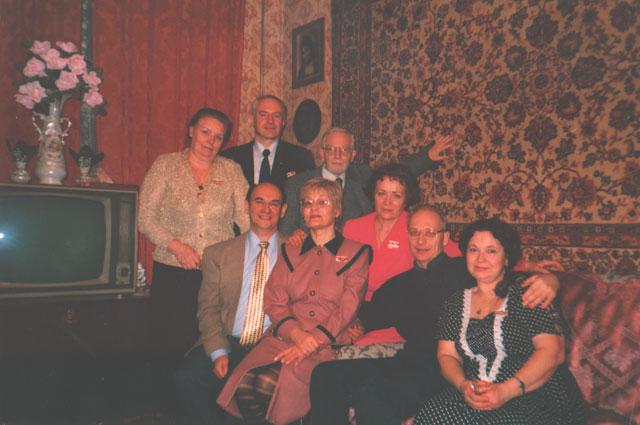 2000 год. Январь. Ежегодная встреча Комитета Самара.