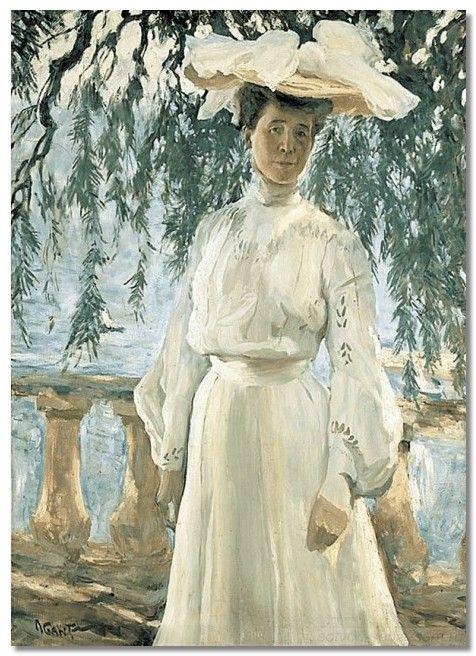 В 1903 году Бакст сошелся с Любовью Павловной.