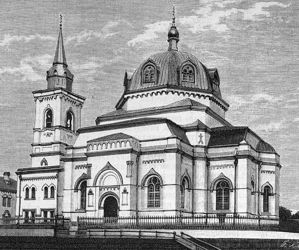 Собор Воскресения Христова в Токио, 1891 г.