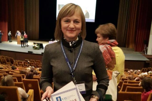 Татьяна Юдицкая на конференции.