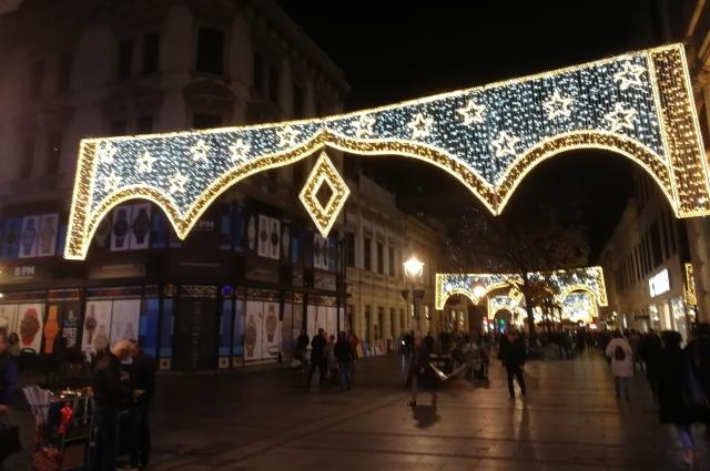 Местный Арбат - улица князя Михаила.