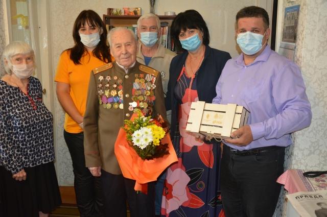 Ивану Алексеевичу Шпагину через 6 месяцев исполнится 100 лет.