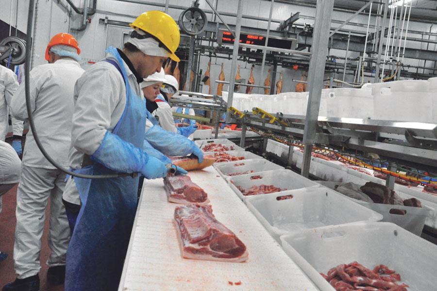 Тамбовская область на шестом месте по экспорту мяса и субпродуктов.
