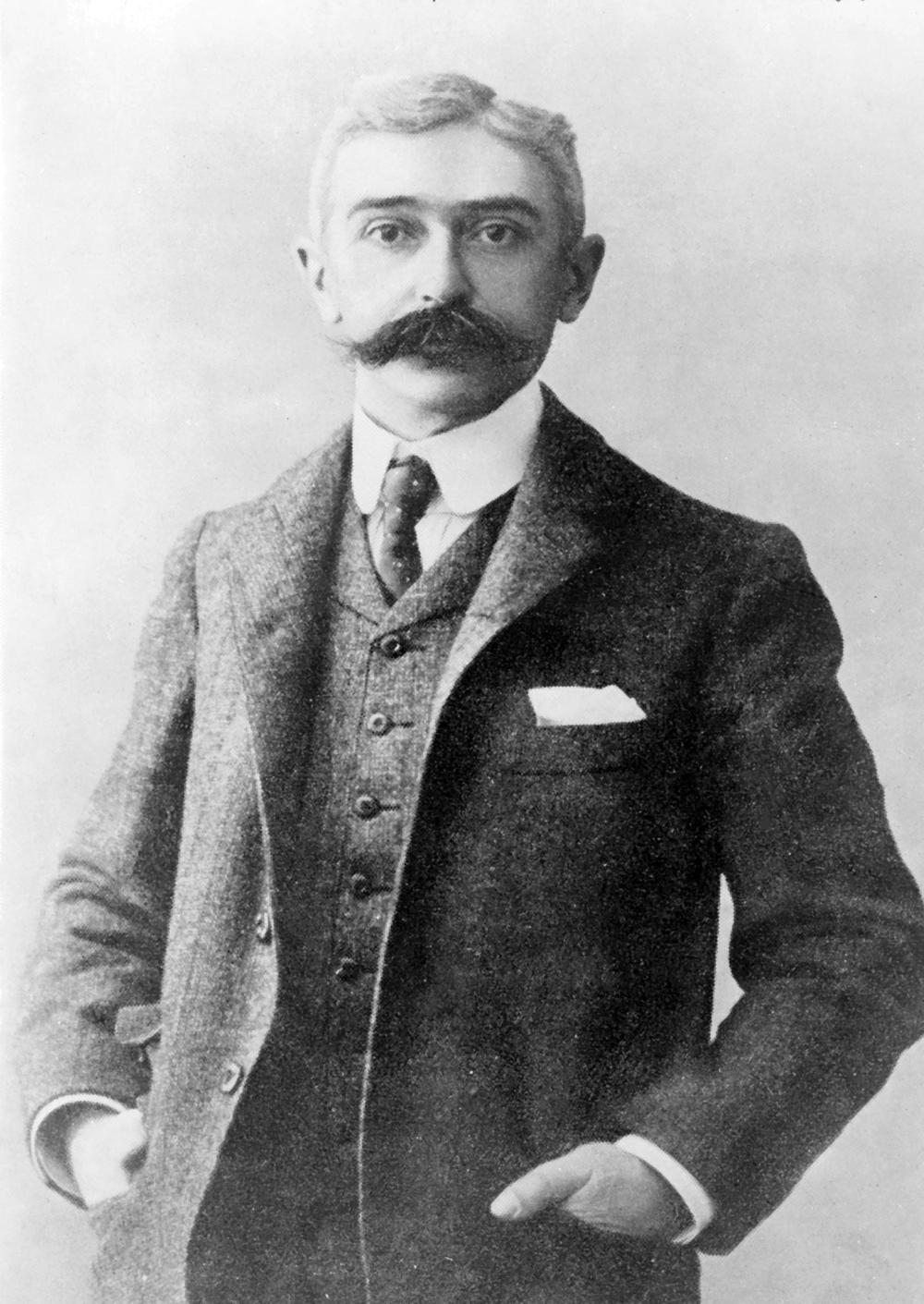 Пьер де Кубертен.