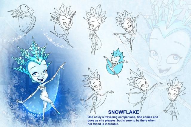 Снежинка - героиня третьей части