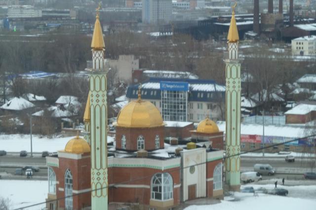 Татарская мечеть в Ижевске.