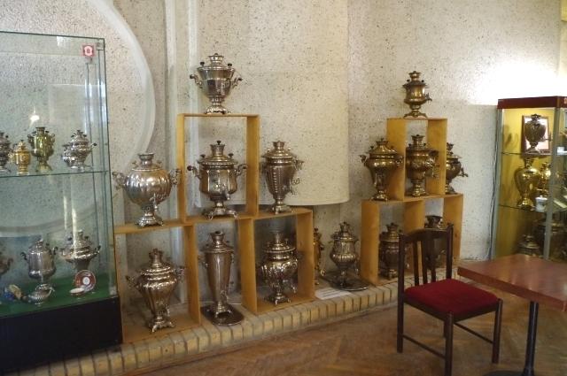 В музее тульских самоваров