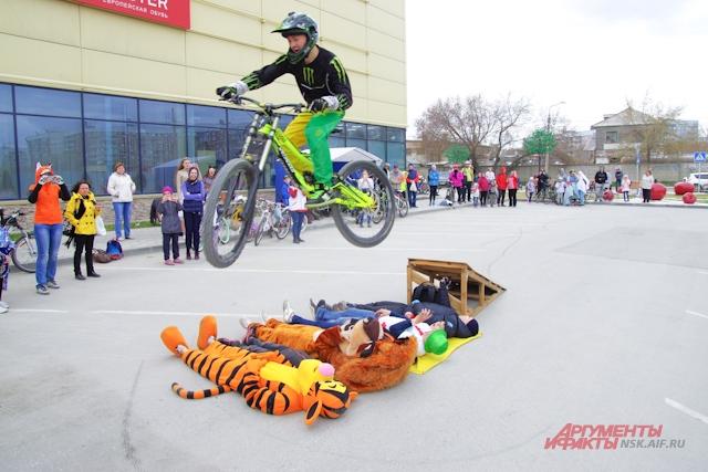 Велокарнавал любят новосибирцы.