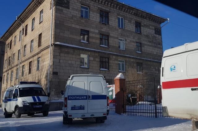 Эвакуация в школе № 109.