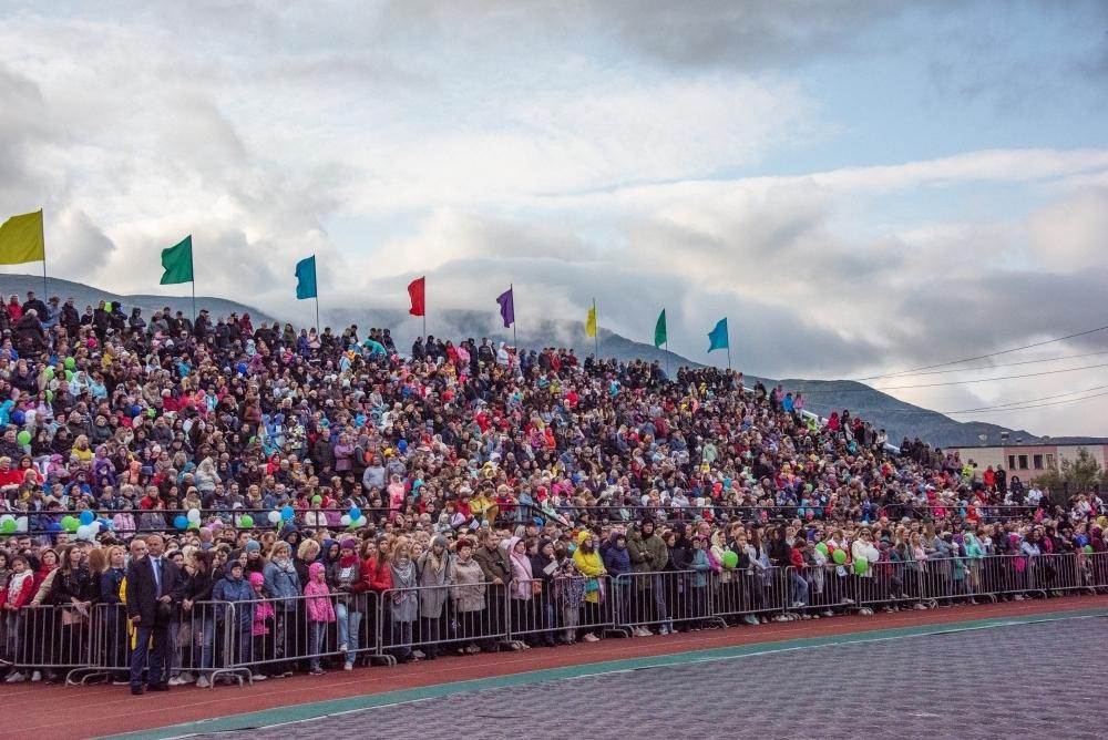 Стадион «Горняк» едва вместил всех желающих!