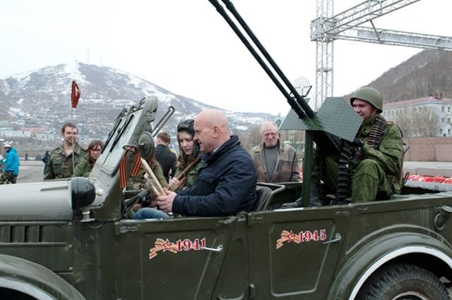 Автопробег «Спасибо деду за Победу!».