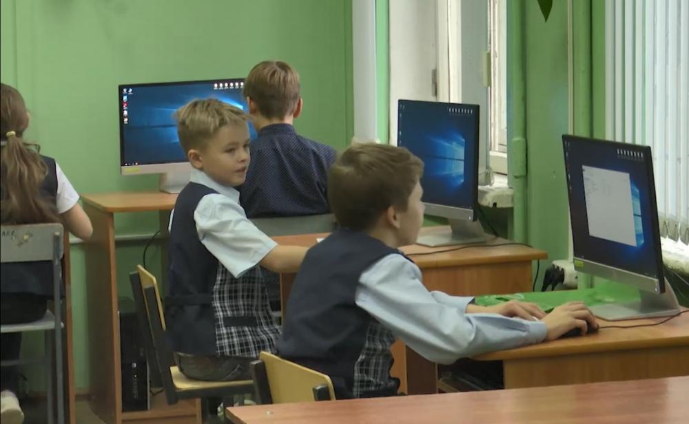 В школе появился компьютерный класс