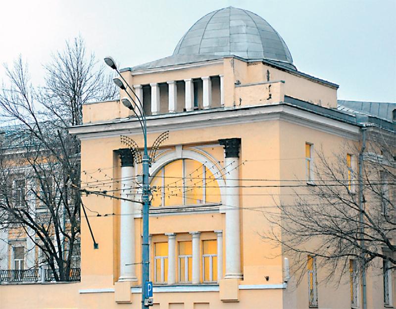 (2) Фрагмент усадьбы Н. Новикова, позже - Спасские казармы