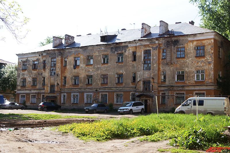 Несколько лет городские власти не могут расселить аварийным дом, построенный в послевоенное время пленными немцами
