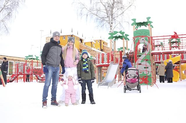 Юркин парк - место для всей семьи.