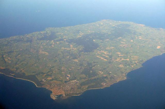 Датский остров Борнхольм.