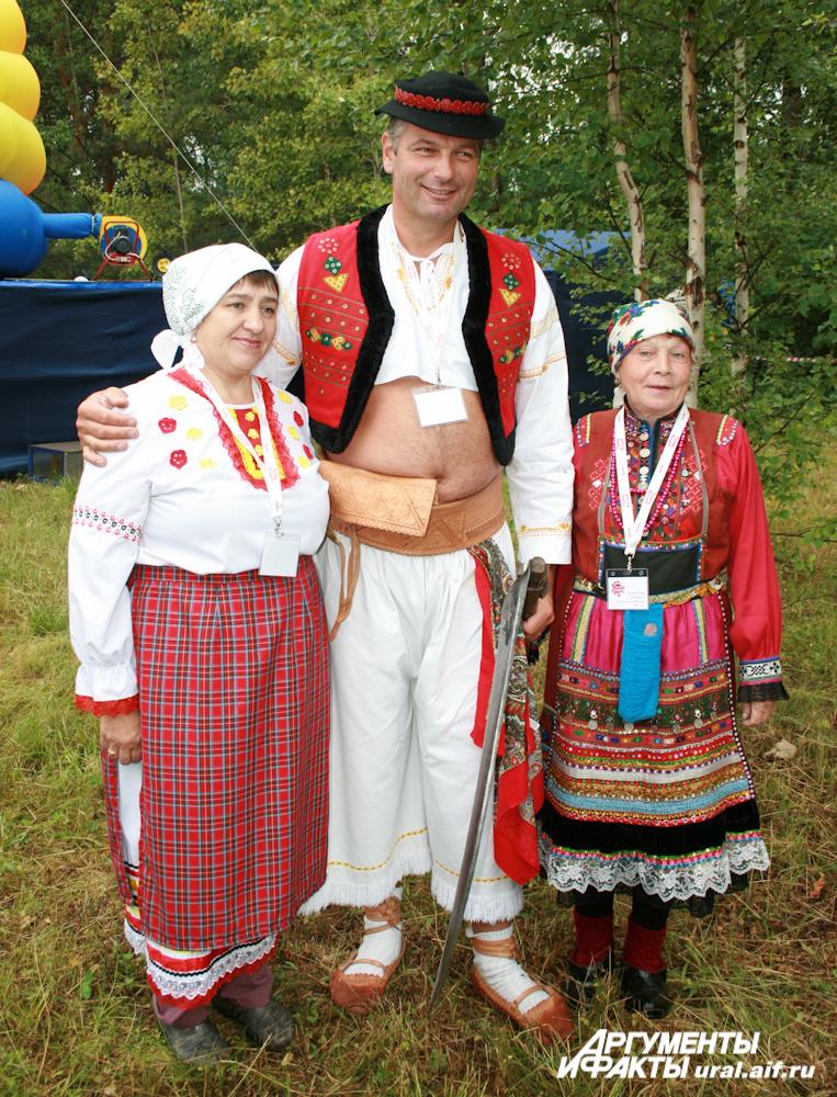 Паволь Фабро из Словении имел успех у уральских дам.