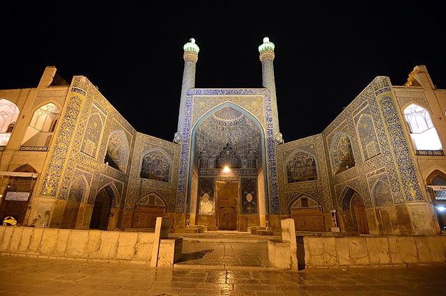 Мечеть Имама в городе Исфахан в Иране.