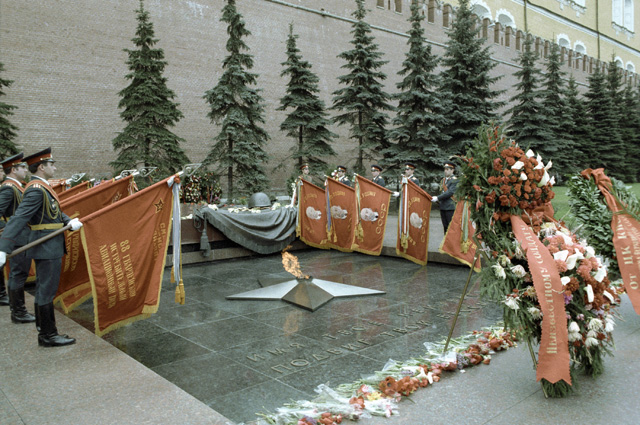 Почётный караул у могилы Неизвестного солдата, 1982 г.