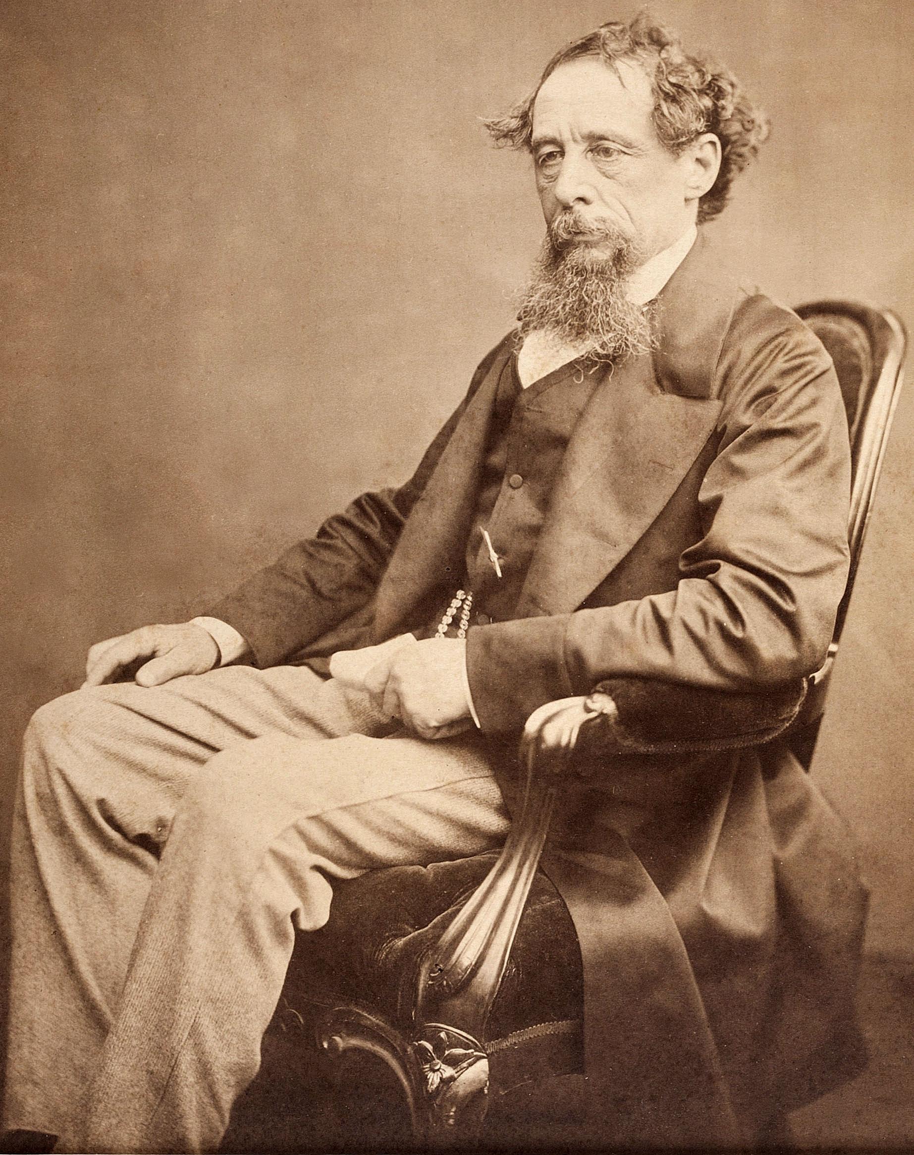 Чарльз Диккенс, примерно 1860 год