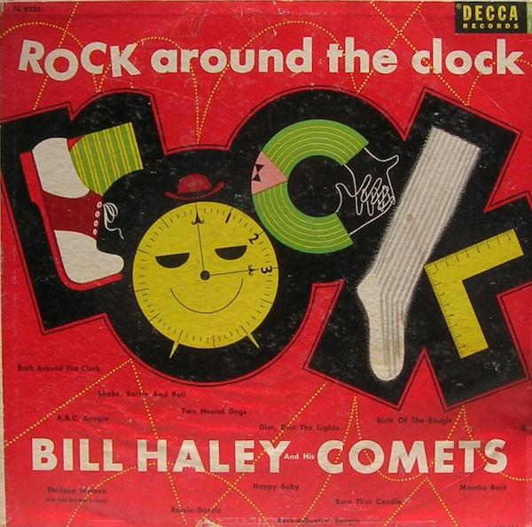Сборник Билла Хейли и «The Comets» «Rock Around the Clock» 1955 года.