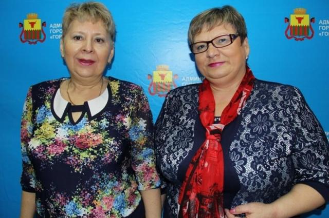Галина Забавская (справа) и Наталья Бурлова.